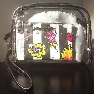 Betsey Johnson set of 3 bags never used!